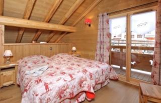 Les Deux Alpes Location Chalet Luxe Cervantite Chambre 1