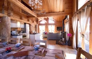 Les Deux Alpes Location Chalet Luxe Princess Blue 2 Interieur