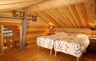 Les Deux Alpes Location Chalet Luxe Princess Blue Chambre 1