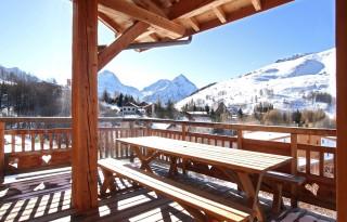 Les Deux Alpes Location Chalet Luxe Wardite Exterieur
