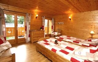 Les Deux Alpes Location Chalet Luxe Wilsay Chambre
