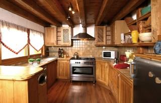 Les Deux Alpes Location Chalet Luxe Wilsay Cuisine