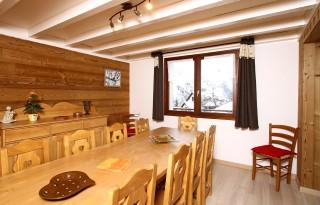 Les Deux Alpes Location Chalet Luxe Wilsonite Salle à Manger