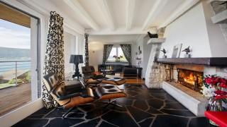 Annecy Location Villa Luxe Pierre De Canelle Salon