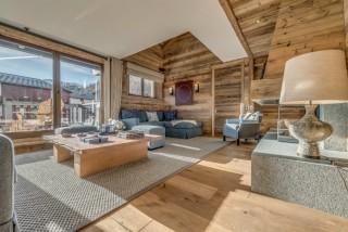 Val D'Isère Location Appartement Dans Résidence Luxe Elina Salon