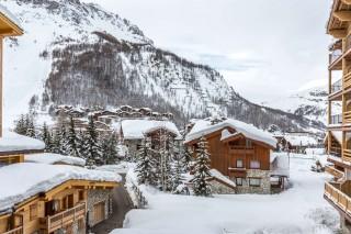 Val d'Isère Location Appartement Luxe Vaselate Extérieur