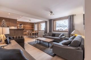 Val d'Isère Location Appartement Luxe Vaselate Séjour 3
