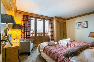 Val d'Isère Location Appartement Luxe Vatalis Chambre 2