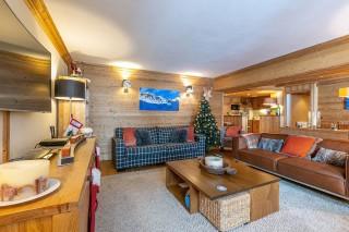 Val d'Isère Location Appartement Luxe Vatalis Séjour 4