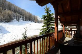 Val d'Isère Location Appartement Luxe Vatilis Balcon