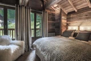 Val d'Isère Location Appartement Luxe Vatilis Chambre