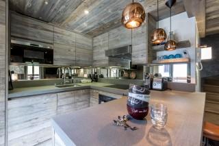 Val d'Isère Location Appartement Luxe Vatilis Cuisine 2