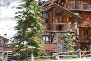 Val d'Isère Location Appartement Luxe Vatilis Extérieur