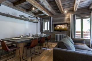 Val d'Isère Location Appartement Luxe Vatilis Séjour 2