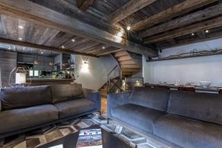 Val d'Isère Location Appartement Luxe Vatilis Séjour 3