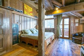 Val d'Isère Location Appartement Luxe Vesuvian Chambre