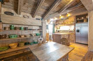 Val d'Isère Location Appartement Luxe Vesuvian Cuisine