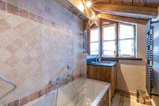 Val d'Isère Location Appartement Luxe Vesuvian Salle De Bain