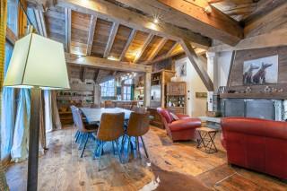 Val d'Isère Location Appartement Luxe Vesuvian Séjour 3