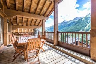 Val d'Isère Location Appartement Luxe Vesuvian Terrasse