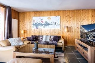 Val d'Isère Location Appartement Luxe Vesuvin Séjour 3