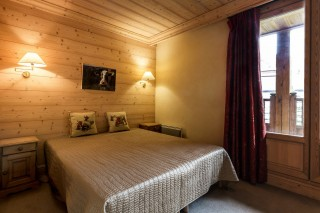 Val d'Isère Location Chalet Luxe Vabanite Chambre