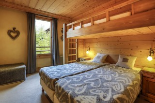 Val d'Isère Location Chalet Luxe Vabanite Chambre 4