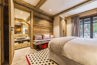 Val d'Isère Location Chalet Luxe Volga Chambre 1