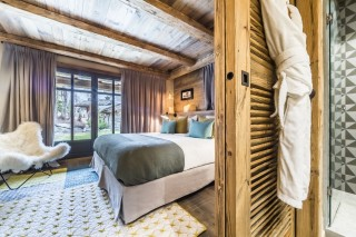 Val d'Isère Location Chalet Luxe Volga Chambre