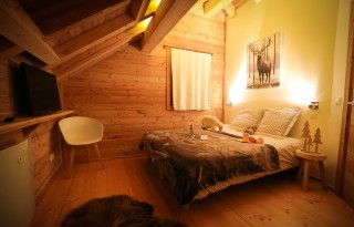 Valloire Location Chalet Luxe Barolyte Chambre