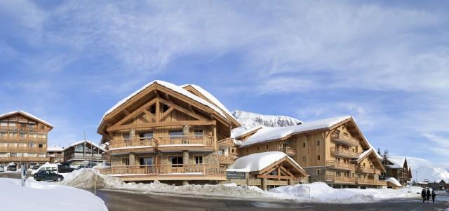 Alpe d'Huez Location Appartement Luxe Acroit Extérieur