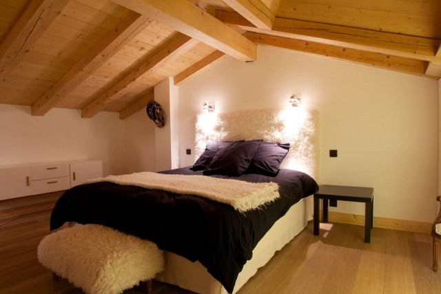 Argentière Location Chalet Luxe Cancrinite Chambre