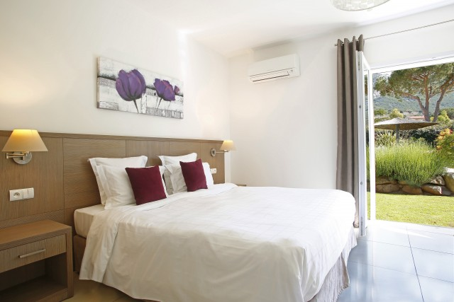 Calvi Location Villa Luxe Curry Chambre