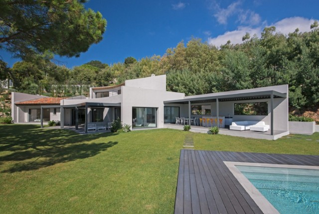 Cannes Luxury Rental Villa Covellite Exterior