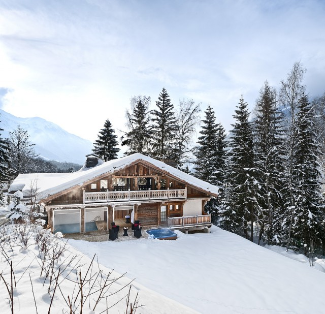 Chamonix Location Chalet Luxe Aconit