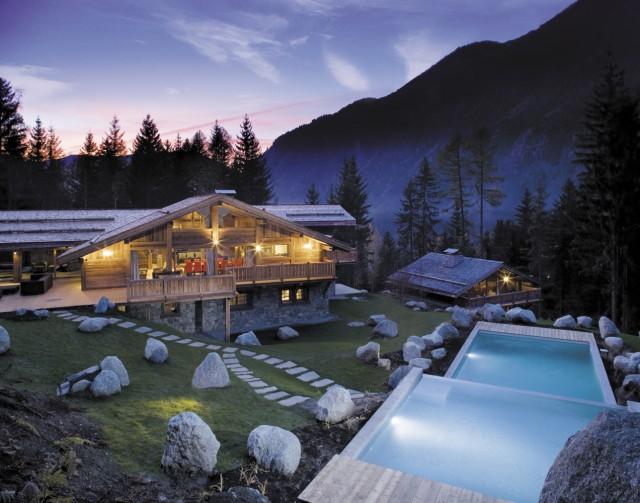 Chamonix Location Chalet Luxe Acrusite Piscine