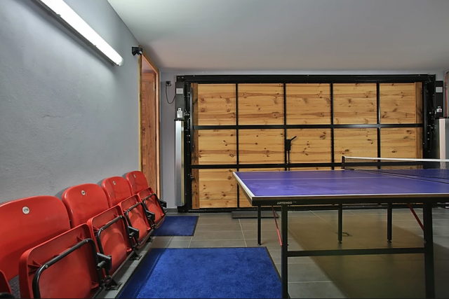 Chamonix Luxury Rental Chalet Coraudin Ping Pong