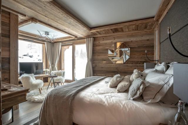 Chamonix Location Chalet Luxe Cornite Chambre