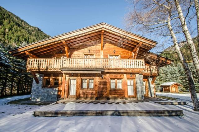 Chamonix Location Chalet Luxe Corundite Extérieur
