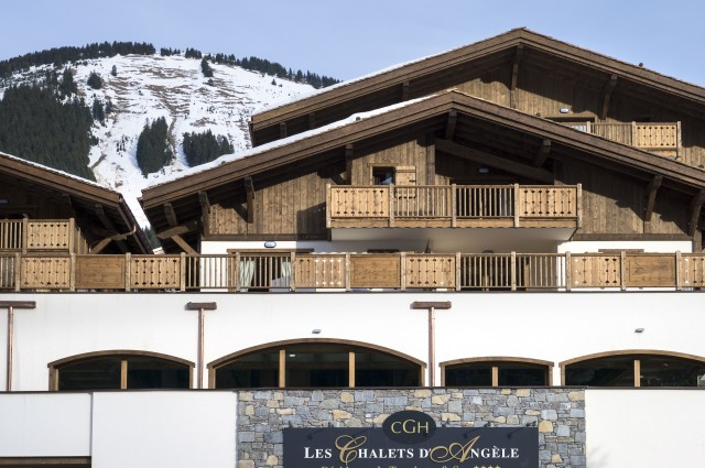 Châtel Rental Apartment Luxury Cuprite Outside