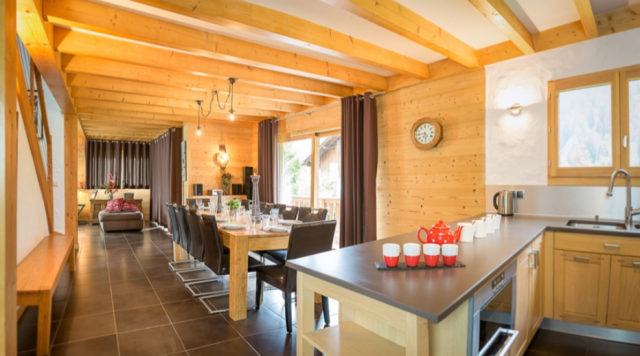 Chatel Luxury Rental Chalet Chalcantite Kitchen
