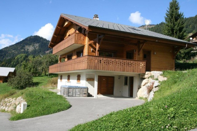 Chatel Luxury Rental Chalet Chalcophanite Exterior