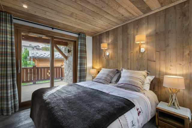 Courchevel 1300 Luxury Rental Appartment Tilante Bedroom