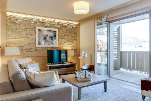 Courchevel 1550 Location Appartement Luxe Telamite Séjour