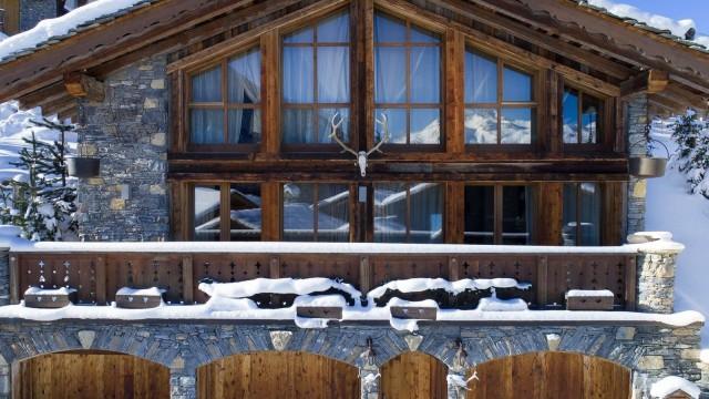 Courchevel 1550 Location Chalet Luxe Niobite Extérieur