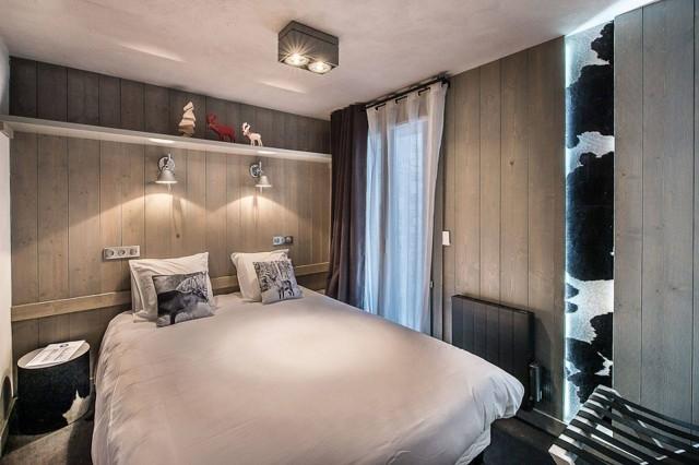Courchevel 1650 Location Appartement Luxe Doredo Chambre