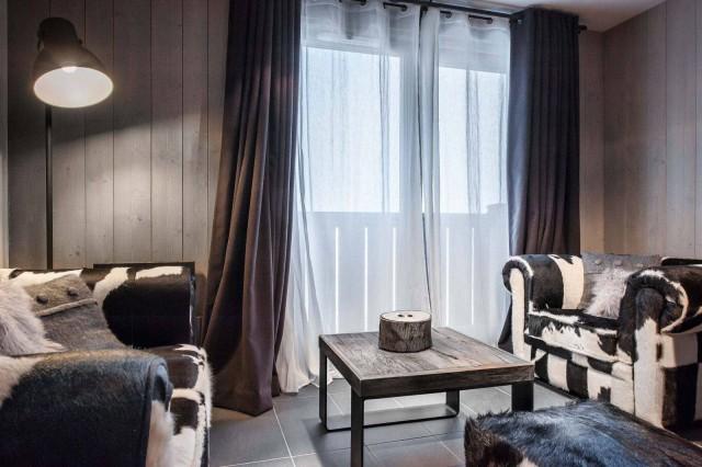Courchevel 1650 Location Appartement Luxe Dracali Séjour