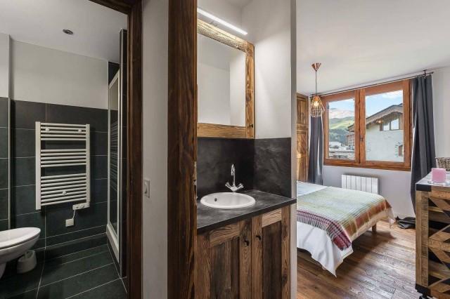 Courchevel 1850 Luxury Rental Appartment Eciello Bedroom