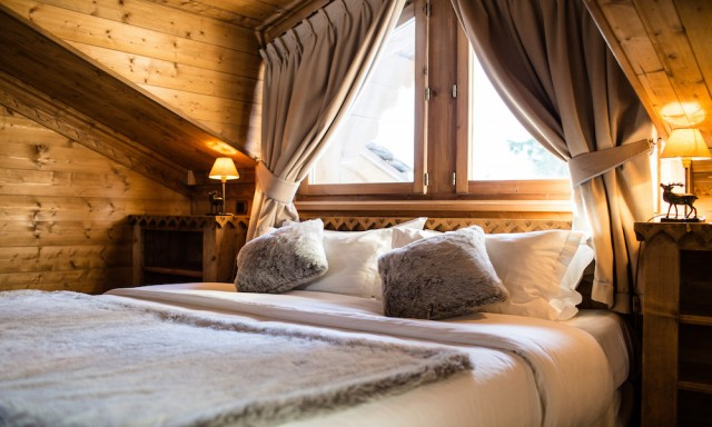 Courchevel 1850 Location Chalet Luxe Marialite Chambre
