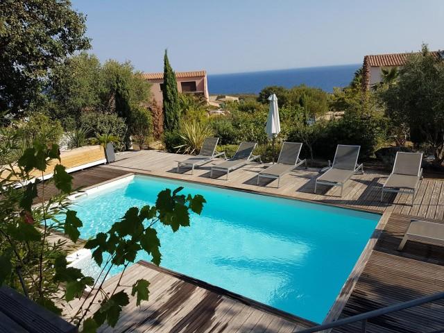 Ile Rousse Location Villa Luxe Haubari